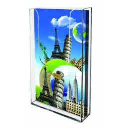 Wall Mounted Perspex Brochure Holder
