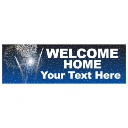Welcome Home - Banner 190