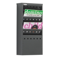 5xA4 Wall Mounted Literature Rack