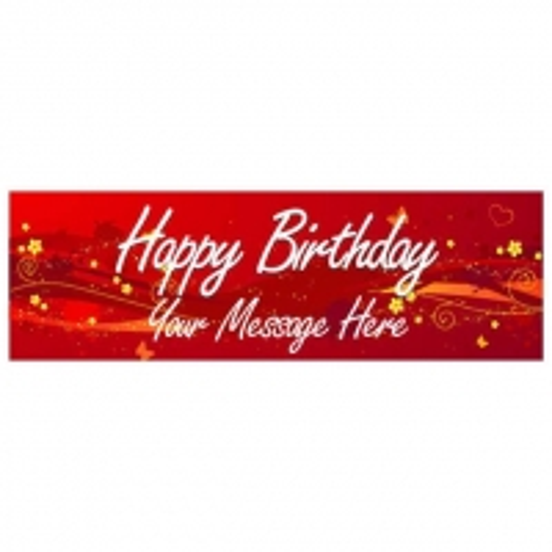 Happy Birthday - Banner 186