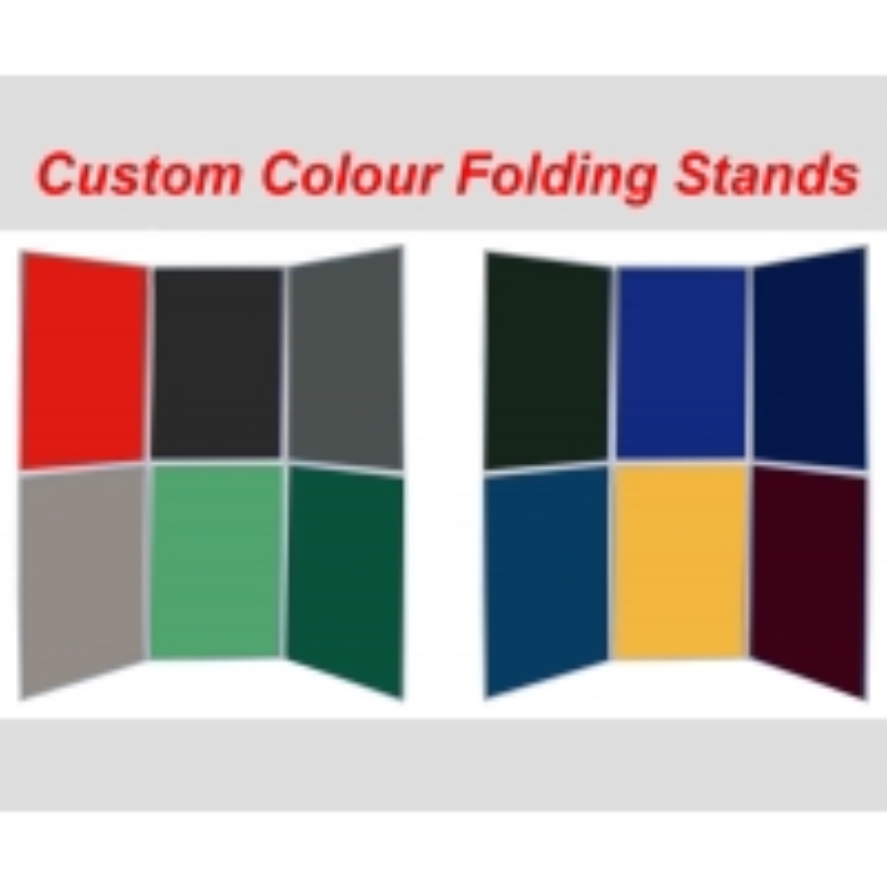 Custom Colour Folding Panel Display