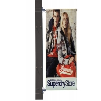Eco Lamp post banner