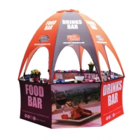 Pop Up Dome Event Kiosk