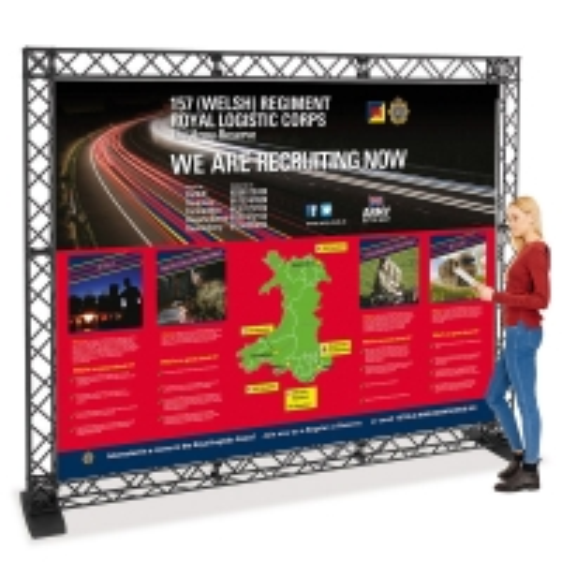 Truss Kit 4 - Folding Exhibition Gantry System 3m(w)