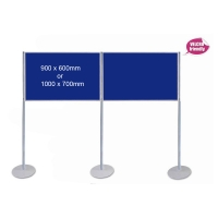 Pole & Panel Landscape Display System