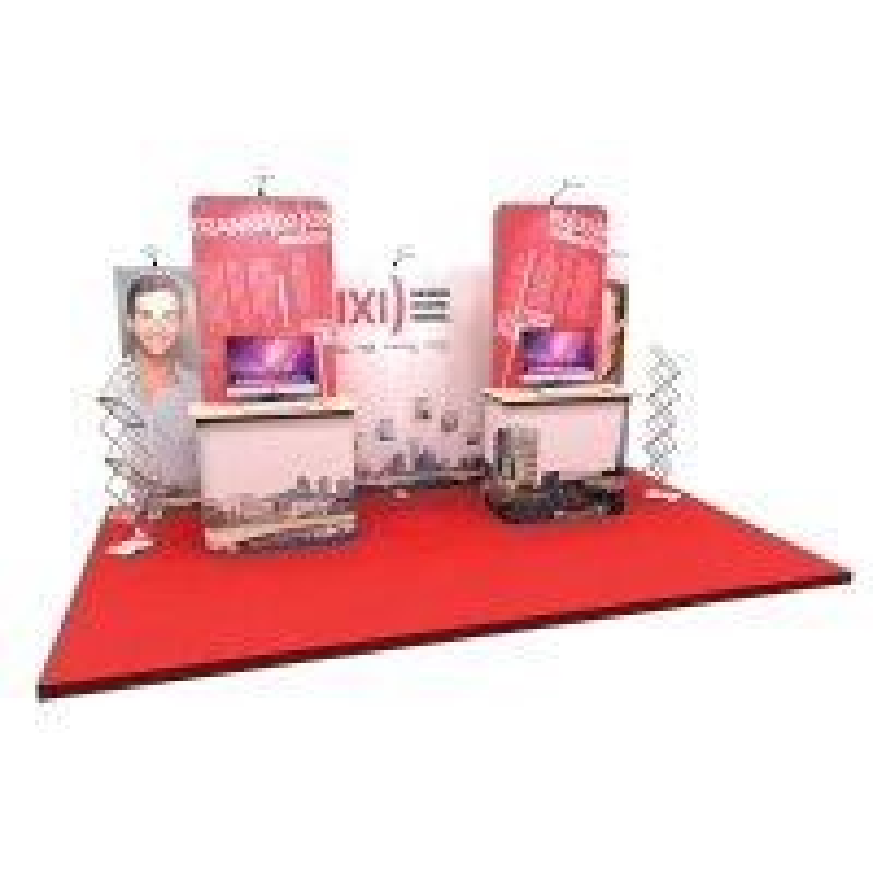Small Modular Display Stand - 3x4m