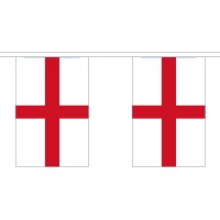 St George Bunting - Small 10 Flags