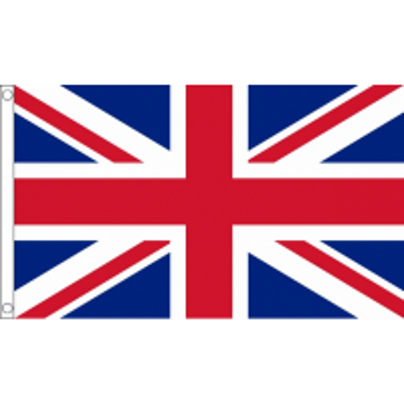 Durable Nylon Union Jack Flag - 5ft x 3ft