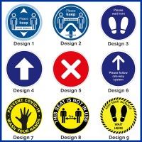 Floor Sticker Bundle - 100 Stickers - Choice of 5 Designs