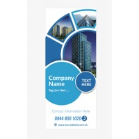 Business Banner 14 - Banner Stand 134