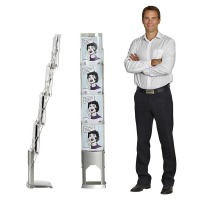 Compact Folding Literature Display
