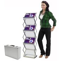 Modern folding design for brochures and leaflets
