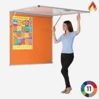 Flame Resistant Covered Tamper Proof Pinnable Board