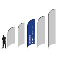 Feather Banners Custom Printed