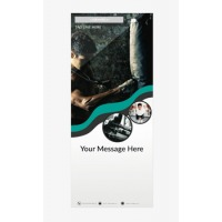 Fitness Banner 5 - Banner Stand 104