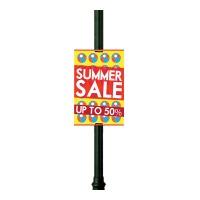 Lamp Post Sign