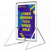 Outdoor Event Heavy Duty Advertising Banner Frame