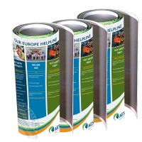portable rollable exhibition graphics
