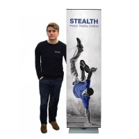 Stealth Tensioned Banner Stand