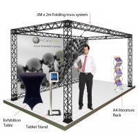 Ready to go gantry exhibition stand