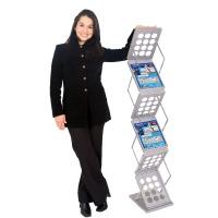 Z-Up Folding Literature Rack