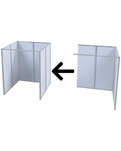 Modular COVID-19 Vaccination Booth