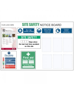 Customisable Site Safety Board
