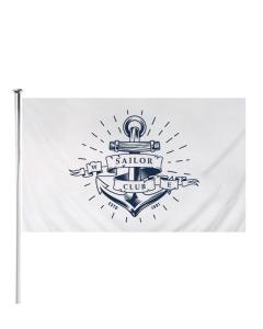 Custom Printed Rope & Toggle Flag