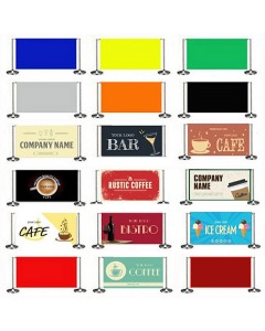 Pre Designed Cafe Banners