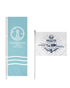Custom Size Flagpole Flag