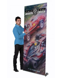 eco-plus roller banner stand
