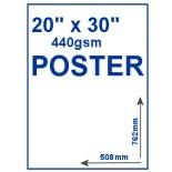 "20"" x 30"" 440gsm PVC Poster"