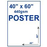 "40"" x 60"" 440gsm PVC Poster"