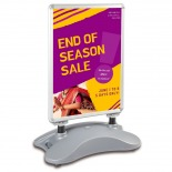 Windjammer A1 Forecourt Sign Water Fillable Base