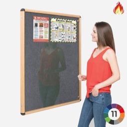 Flame Resistant Pinnable Wood Effect Tamper Proof Board
