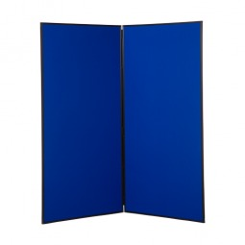 2 Panel Folding Jumbo Stand - Plastic Frame