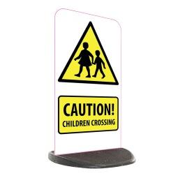 School Economy Pavement Sign - Caution Children Crossing