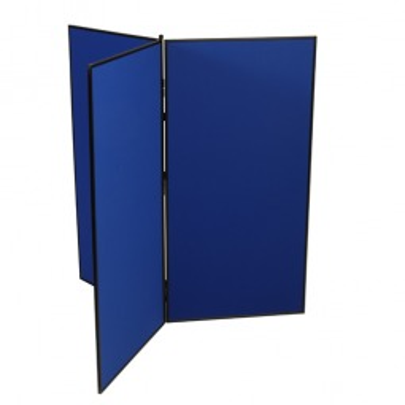 3 Panel Jumbo Classroom Displays space saving design