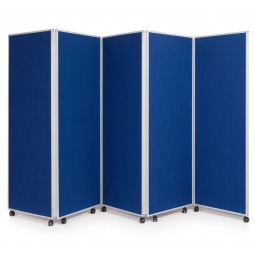 1800mm High Folding Partitioning Divider Screen