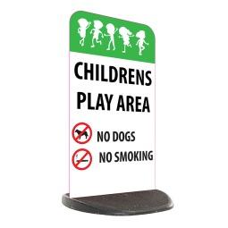 School Economy Pavement Sign - Children's Play Area