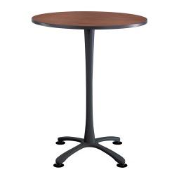 Contemporary bistro exhibition table