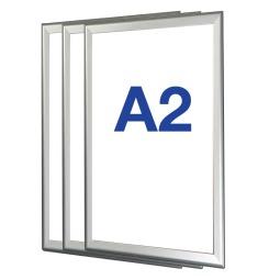 Box of 10 A2 Snap Frames - Expolite