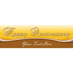 Happy Anniversary - Banner 218