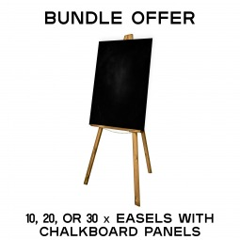 Chalkboard and Easel Special Offer Bundle