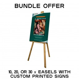 10, 20, or 30 Easel Bundle