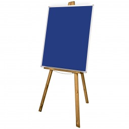 School Display Easel with Noticeboard