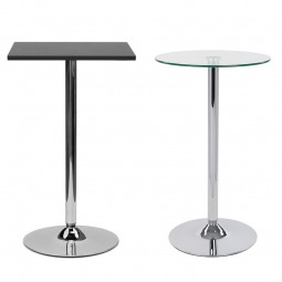 Poseur Table - Glass Event Table