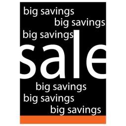 Big Savings Sale - Poster 156