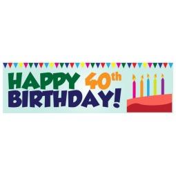 Happy Birthday - Banner 100