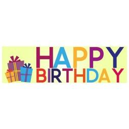 Happy Birthday - Banner 102